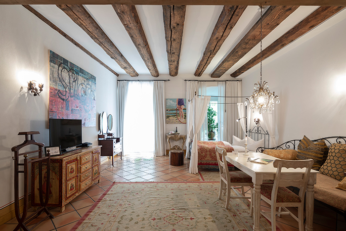 Hotel Orphée - unsere drei Häuser und ihre Zimmer und